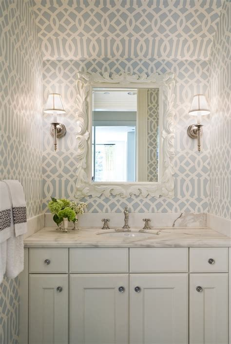 wallpaper for small bathrooms gorgeous wallpaper ideas for your modern bathroom