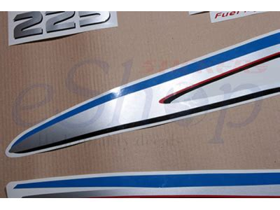 Custom Hp Collection 200 225 250 hp four stroke set eshop stickers
