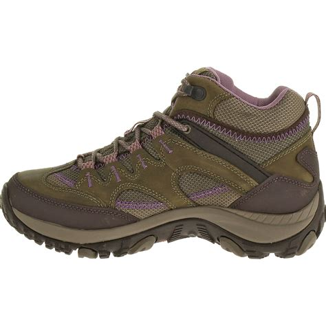 womans hiking boots merrell s salida mid waterproof hiking boots