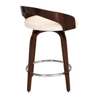 Lumisource Grotto Counter Stool by Lumisource Grotto Mid Century Modern Counter Stool With
