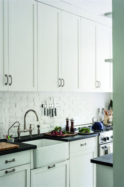 white brick backsplash white brick backsplash decoist