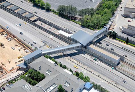 design contest opens to overhaul atlanta bridges ga 400 marta pedestrian bridge footbridge project