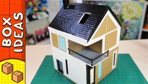 cardboard craft projects diy cardboard house scandinavian craft ideas for