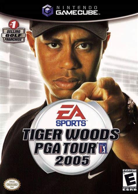 tiger woods  gamecube game