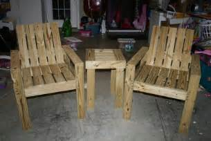 How To Build Patio Chairs Woodwork How To Make Patio Chairs Pdf Plans