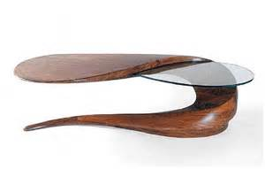 unique modern wood circle coffee table design furniture