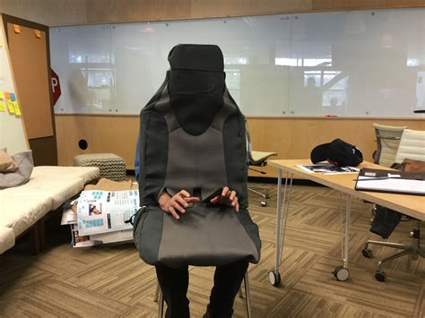 costume car seat why are ucsd scientists disguising themselves as empty car