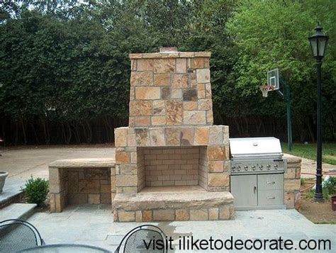 make your own outdoor fireplace how to make a outdoor fireplace curb appeal