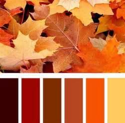 autumn color palette orange color schemes