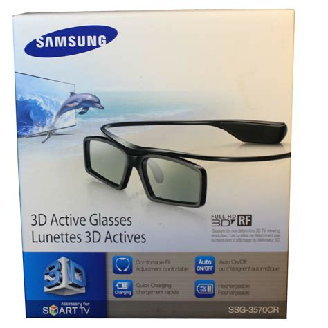 samsung ssg 3570cr 3d active glasses black new other in retail packaging ebay
