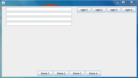 null layout in jpanel java adding jpanels to jframe wiht it s default layout