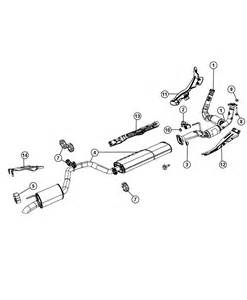Exhaust System Jeep Commander 2008 Jeep Commander Exhaust System