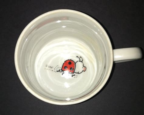 bed bug cups vintage quot i m a bed bug quot coffee mug cup by gibson red
