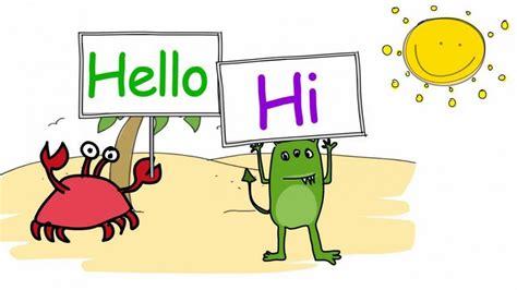 imagenes de ingles hello diferentes formas de saludar en ingl 233 s academias de