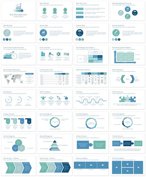 risk management powerpoint template presentationdeck com