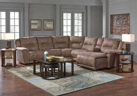 catnapper montgomery sectional sofa set 1 cement cn 175