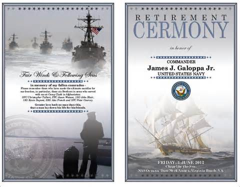 Navy Retirement Program Template by Anchors Away Memorial Day 15 Month Adventure