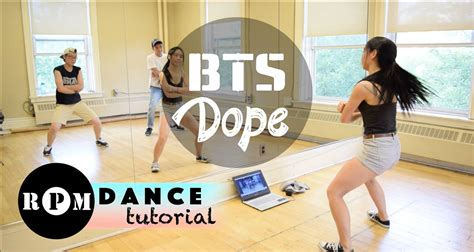 tutorial dance danger bts bts quot dope quot dance tutorial choruses kpop mv pinterest