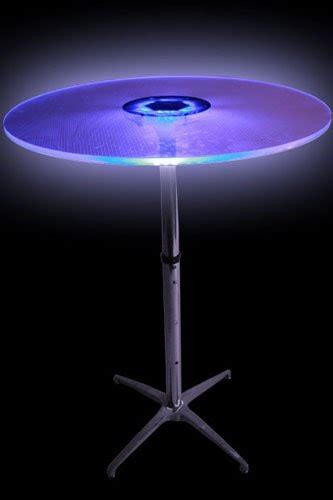Led Tables by Abc 187 Led Bistro Table