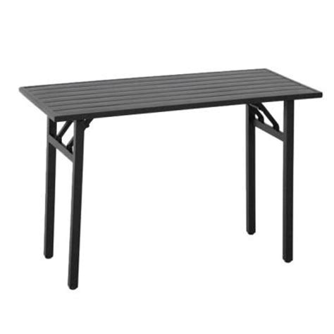 Martha Stewart Patio Table Martha Stewart Living Franklin Park Rectangular Patio High Dining Table Ftm10162 The Home Depot