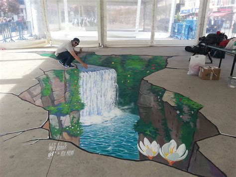 3d paintings 3d street painting in istanbul 3d street painting by