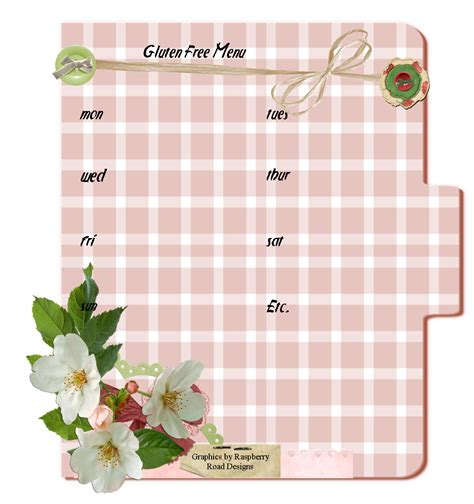 create a menu template free 6 best images of create your own printable menus