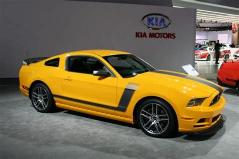 yellow automotive paint 2013 boss 302 shows off school bus yellow paint other