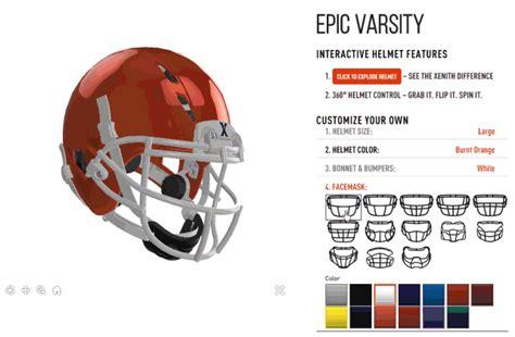 football helmet design builder exocortex blog