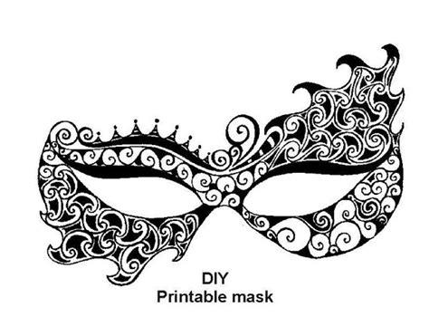 masquerade mask template for adults printable mask masquerade mask carnival mask от