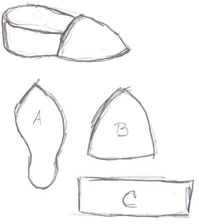 shoe pattern generator download elf shoes coloring pages printable elf best free