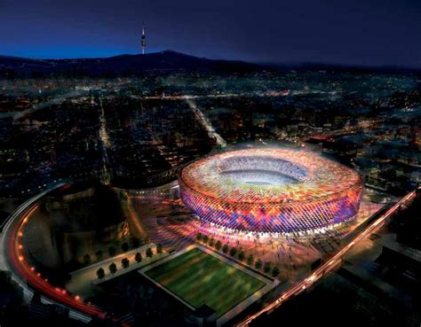 barcelona football c nou stadium barcelona e architect