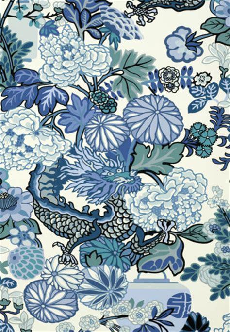 wallpaper blue china chiang mai dragon china blue asian wallpaper by f