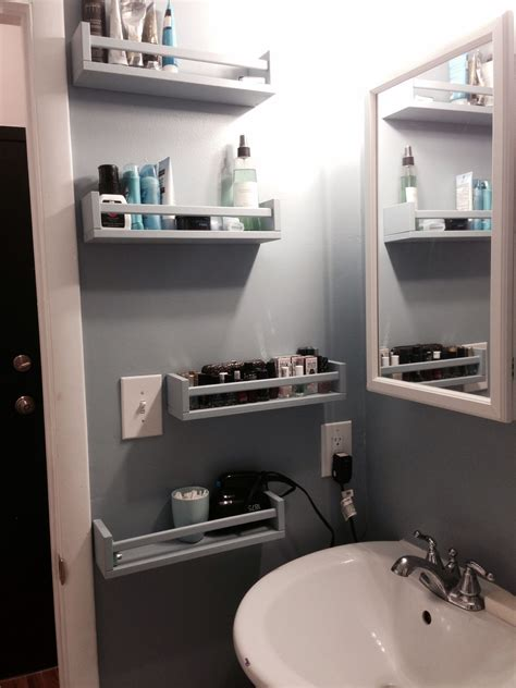 ikea bathroom hacks ikea bekvam spice racks as bathroom storage apt