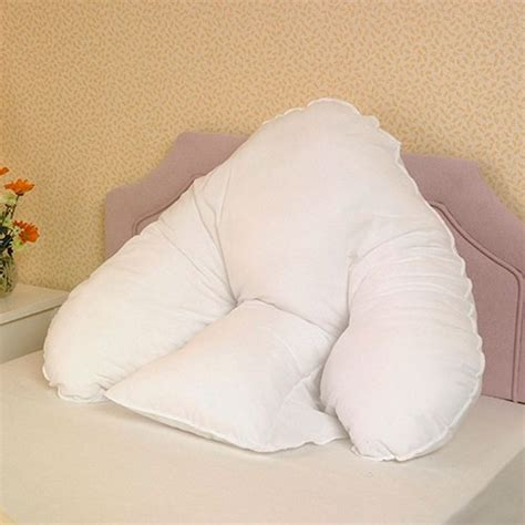 pillows for back support in bed batwing pillow support pillows complete care shop