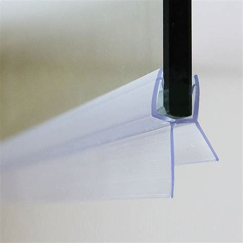 Seals For Glass Shower Doors Shower Screen Door Seal Type 2 Wing Length 20mm Fits 5mm Glass Pack