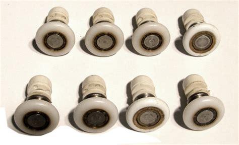 rotelle box doccia set di cuscinetti rotelle per cabina doccia in vetro