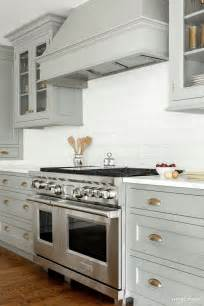 heidi piron heidi piron design and cabinetry painted gray with brass