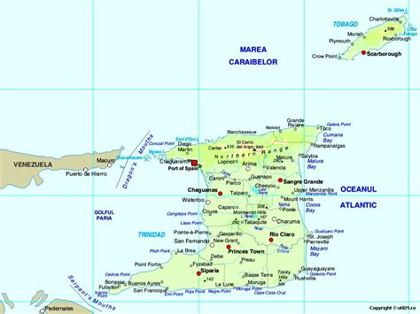Find In And Tobago Map Of And Tobago Maps Worl Atlas And Tobago Map Maps
