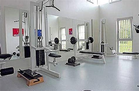 prison weight room strange european prison weight room