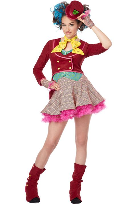 tween costumes purecostumescom mad as a hatter tween costume purecostumes com