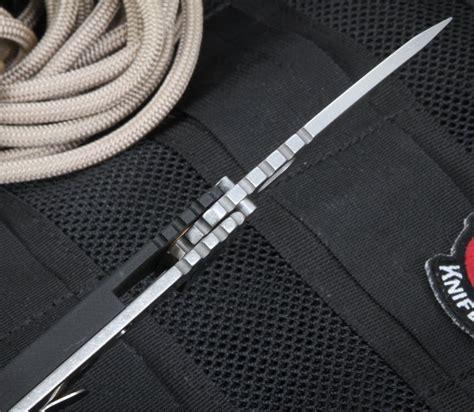 s30 v strider sng hollow grinds black tactical folding knife s30 v