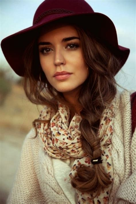 Hairstyles With Hats by Hairstyles To Wear With Winter Hats Hairstyles
