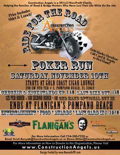 Memorial Day Poker Run Colorado Free Motorcycle Ride Flyer Template