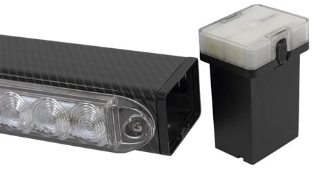wireless tow light bar helios 38 quot wireless tow light bar with lithium technology