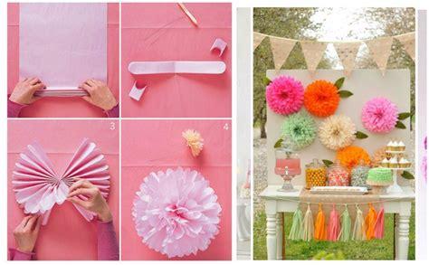 adornos decorativos de papel f 225 ciles y bonitos manualidades