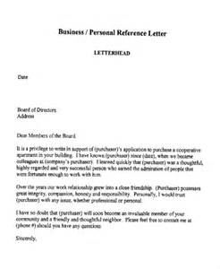 Business Letter Reference Sle Business Reference Letter Template Cover Letter
