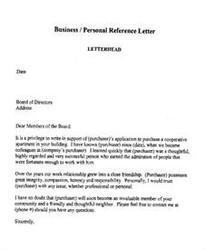 Personal Reference Letter For Sle Personal Letters Ideas 8 Letters Of Recommendation