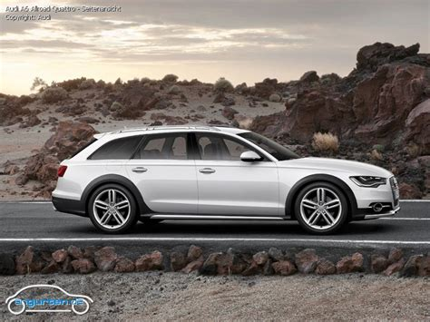 Foto Audi A6 Allroad Quattro Seitenansicht Bilder Audi A6 Allroad Quattro Bildgalerie (Bild 3)