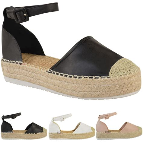 platform flats shoes womens espadrilles wedge platform sandals summer