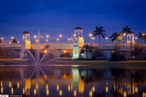 City Of Palm Gardens by Pga Boulevard Bridge Palm Gardens Florida